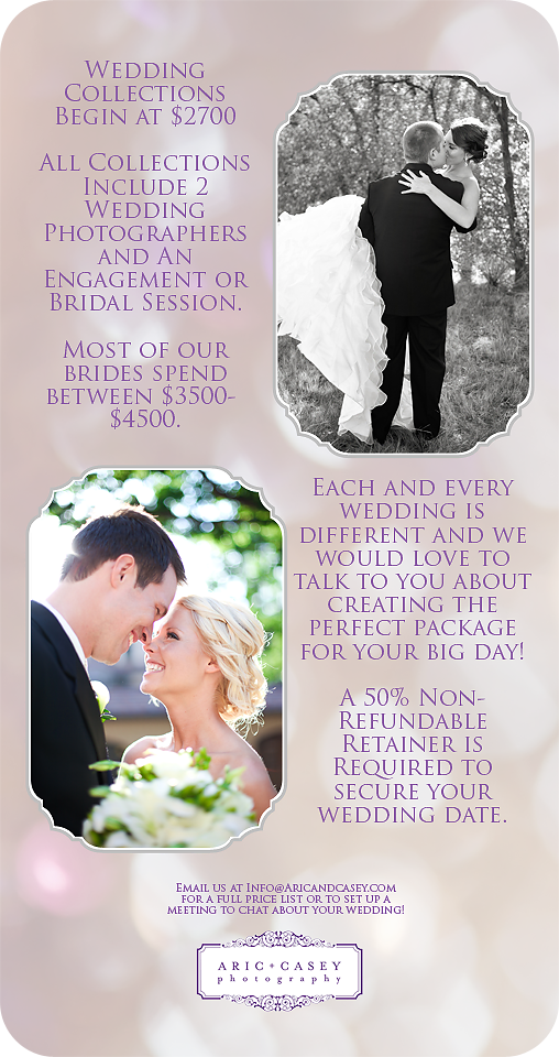 Lubbock Wedding Photographer Pricing