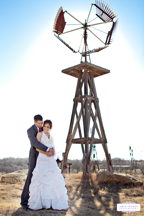 Beautiful, Rustic, Romantic, Southern Wedding with Cotton inspired details of Alston Becker and Jesalyn Bradley's wedding photographed in Lubbock Texas at the Windmill Museum by Lubbock Wedding Photographer Aric + Casey Lampert of Aric + Casey Photography