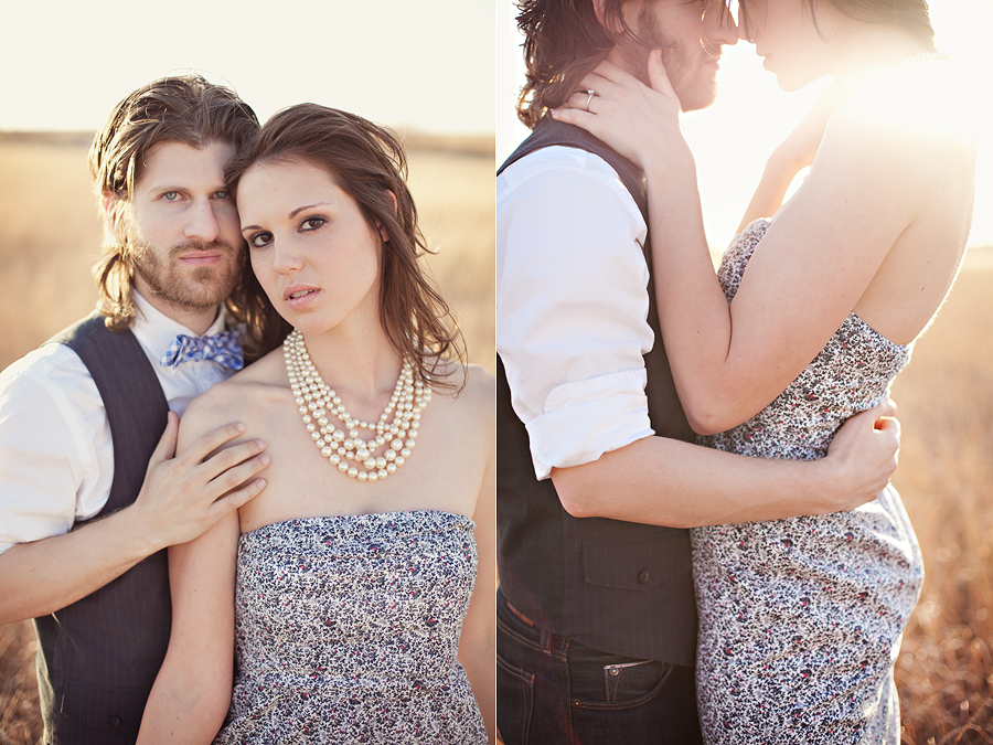 caitlin vaughn and ryan thurman's engagement photos by lubbock wedding and portrait photographers