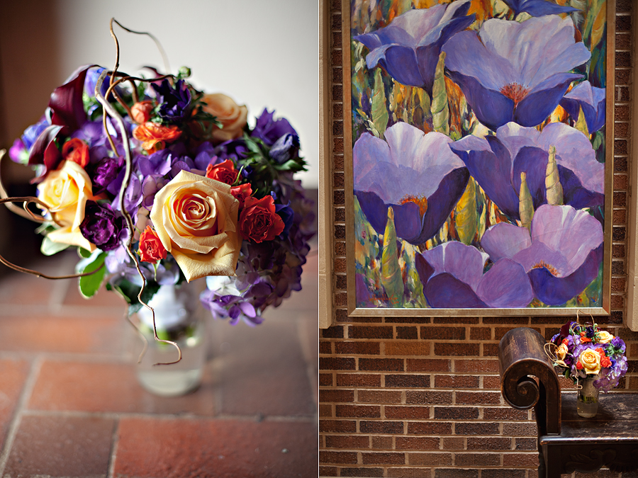 Lubbock Day spring design wedding bouquet by Aric + Casey Photography