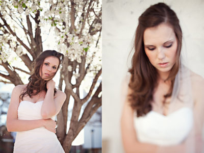 simple and stunning and elegant bridal portraits of Caitlin Vaughn by Aric and Casey Photography in Lubbock Texas