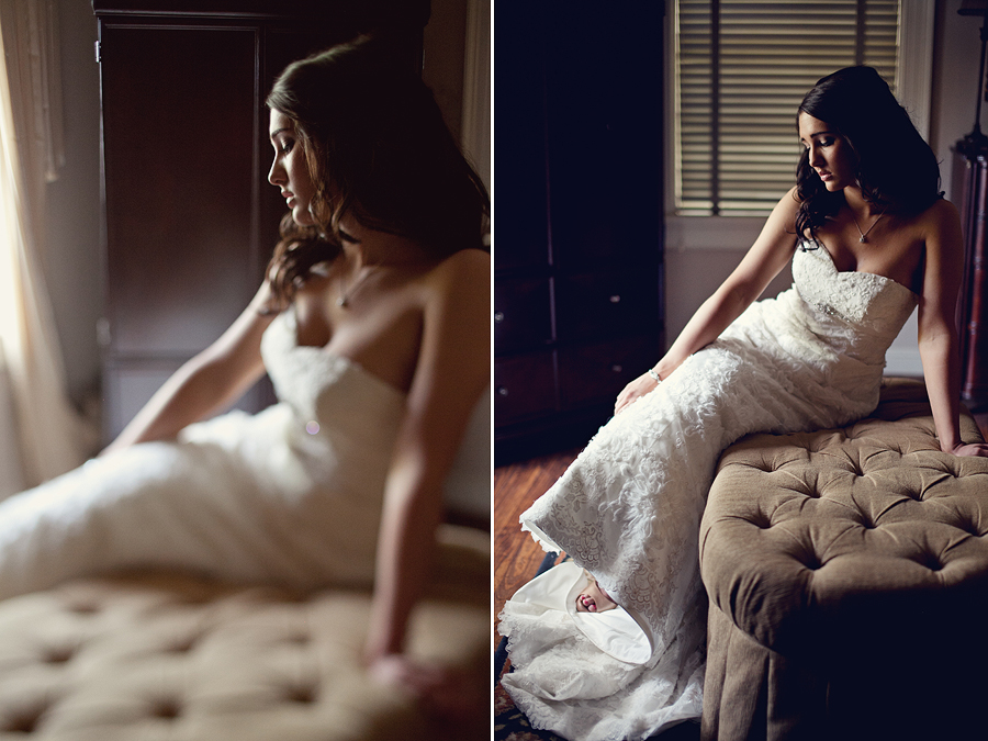 Romantic Bridal Portraits: Megan Gafford Cannon Bridals