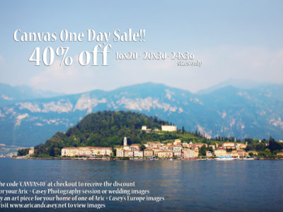 ONE DAY CANVAS SALE!