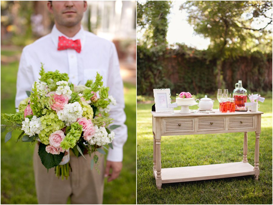 beautiful outdoor lubbock wedding