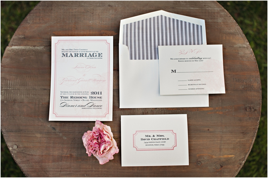 hodge podge design wedding invitations
