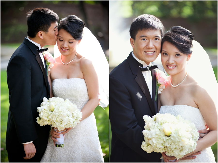 Beautiful wedding photos at Rice University