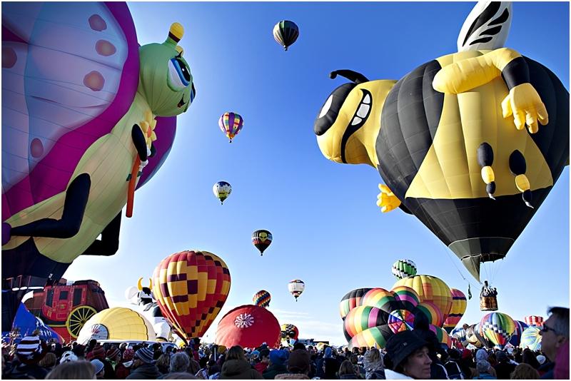 Albuquerque International Balloon Fiesta Butterfly