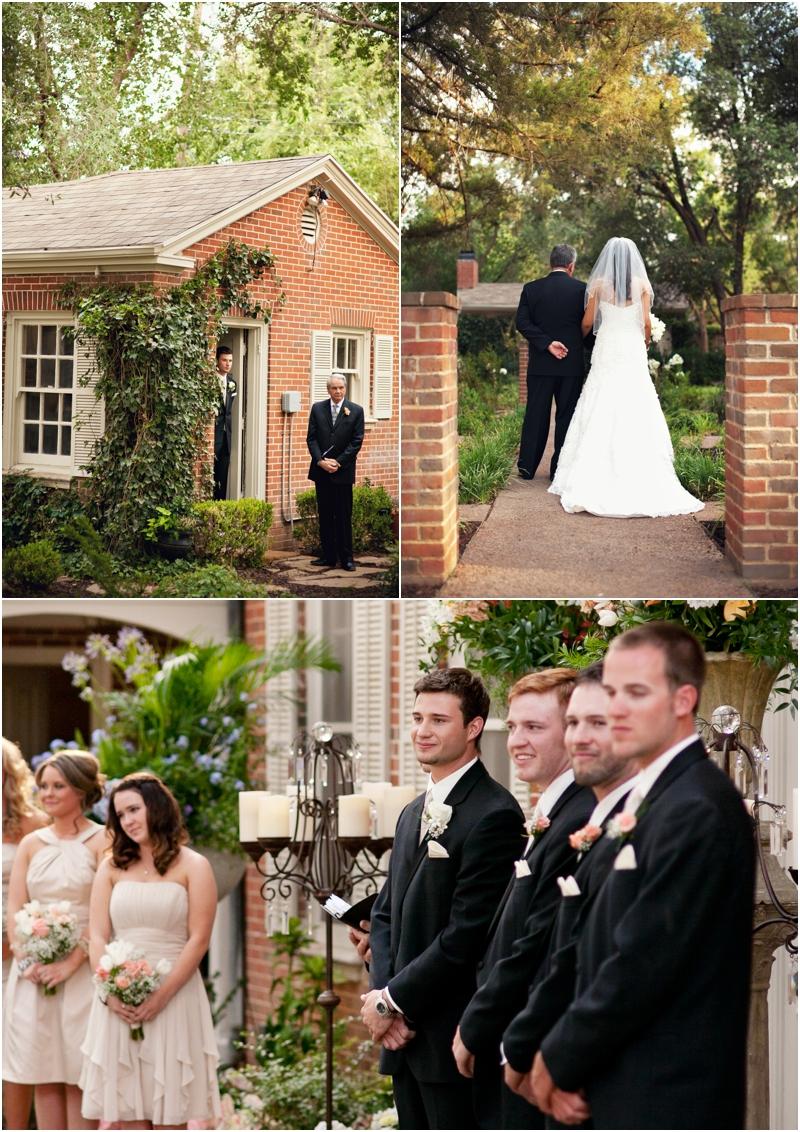 megan aaron lubbock backyard wedding lubbock wedding