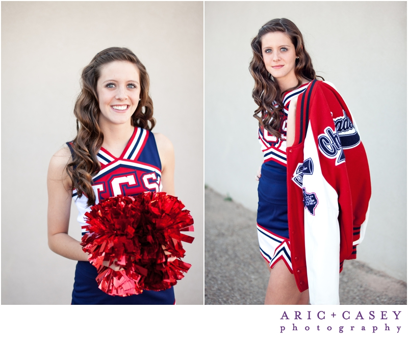Trinity Christian High School Cheerleader Senior