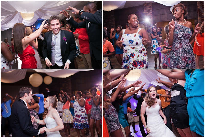 fun wedding reception at The Legacy