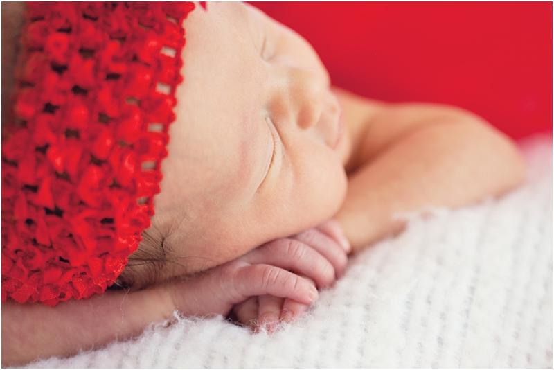 newborn cheeks
