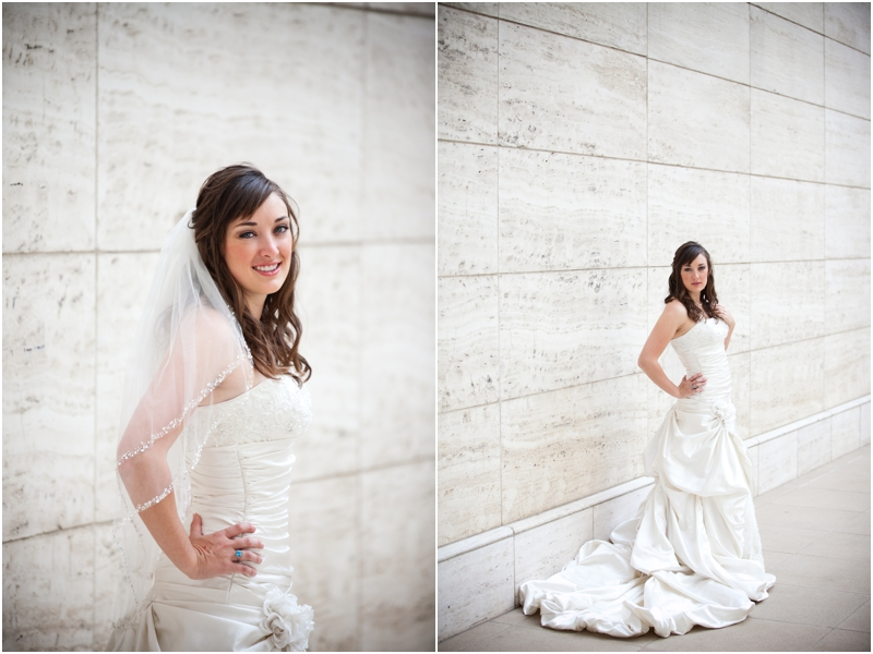Downtown Dallas Bridal pictures