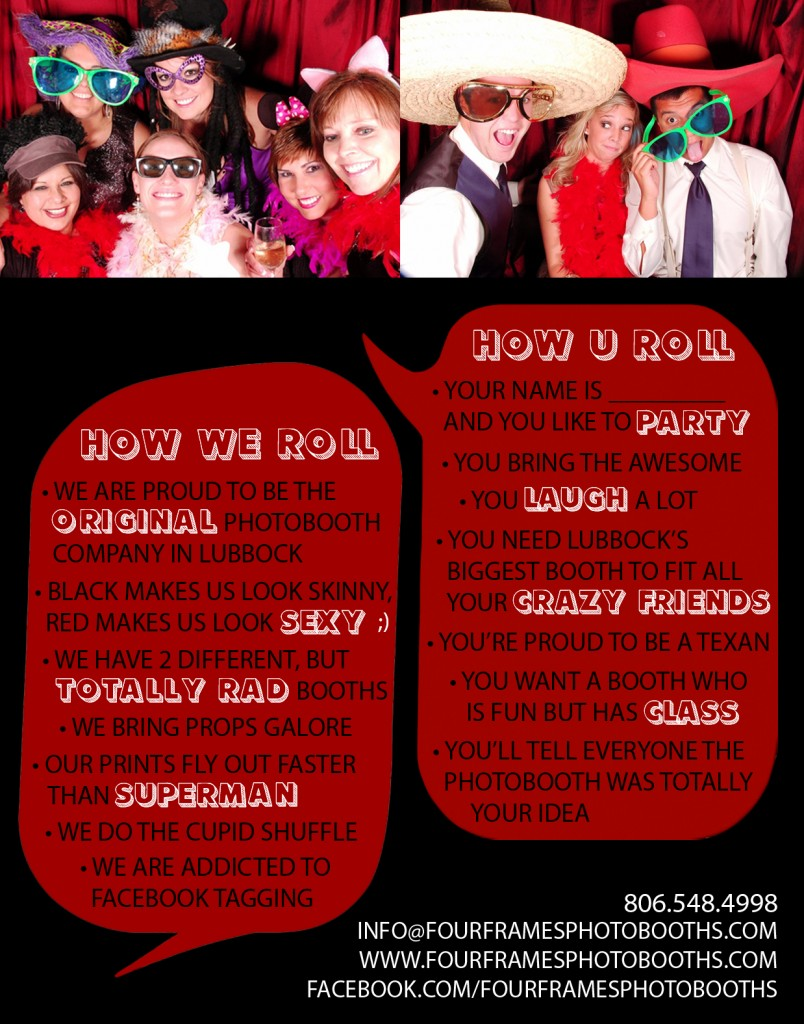 lubbock photo booth information