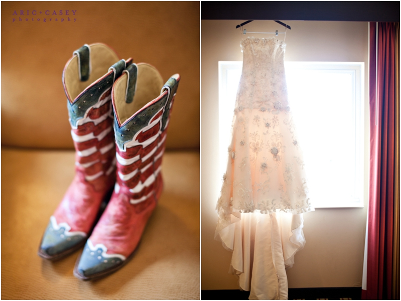 country wedding details cowboy booths