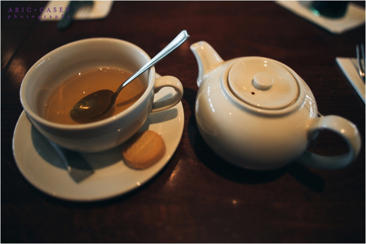 tea in london