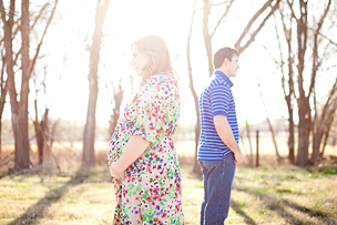 Brooke + Dean = Mac | Lubbock Maternity Photographer