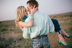 Shelby + Cole | West Texas Engagement Session