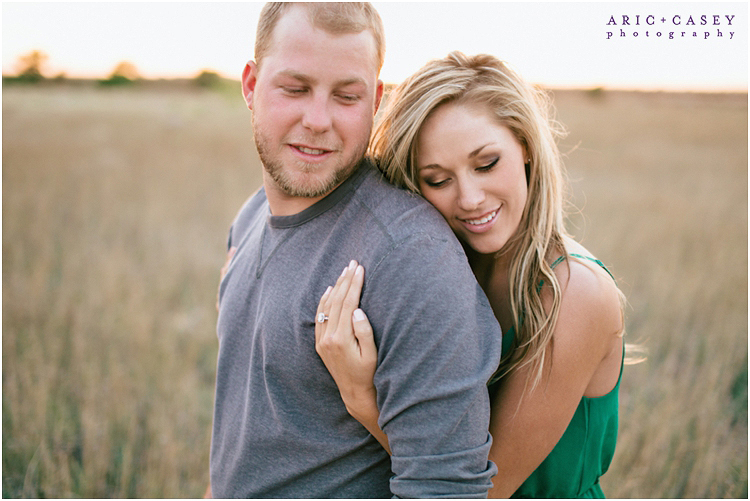lubbock romantic engagement photography