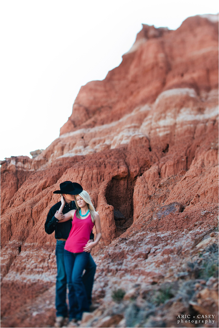 palo duro canyon engagement pictures