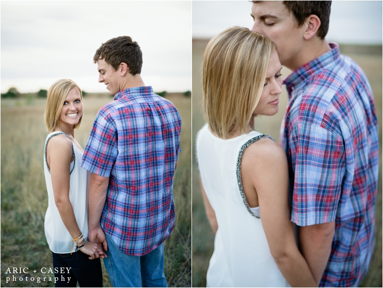 romantic engagement photos lubbock photographer