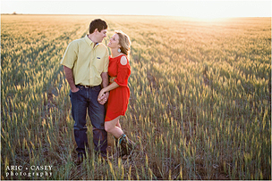 Lottie + Ty | New Mexico Engagement Photographer