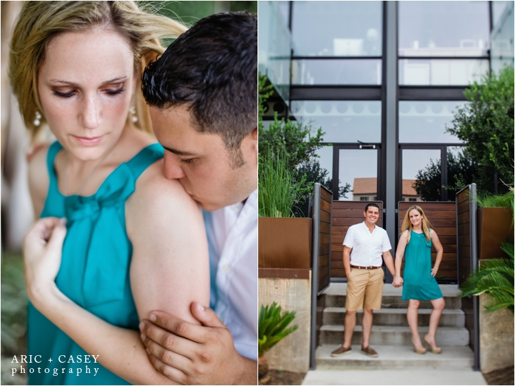 romantic austin texas engagement session