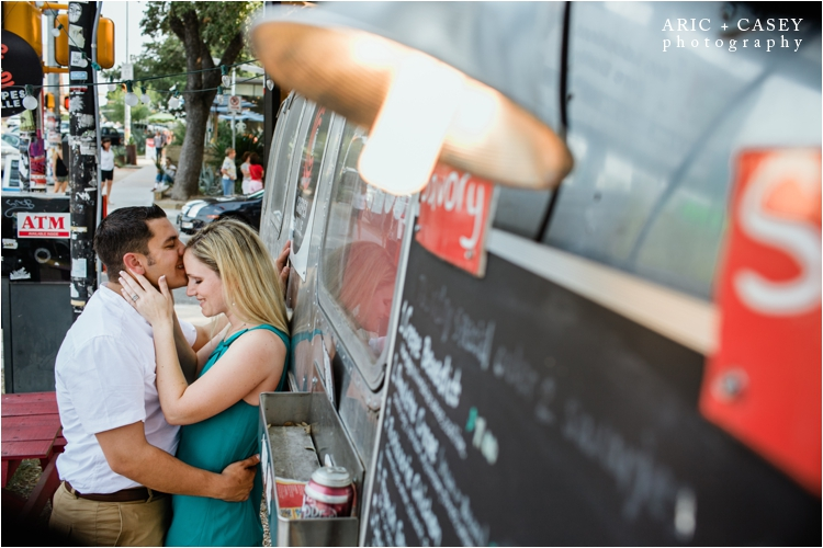 funky engagement photos in Austin