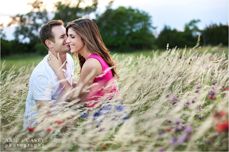 gorgeous texas hill country engagement pictures