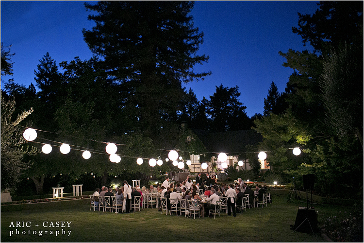 Sylvan Lake Estate Reception
