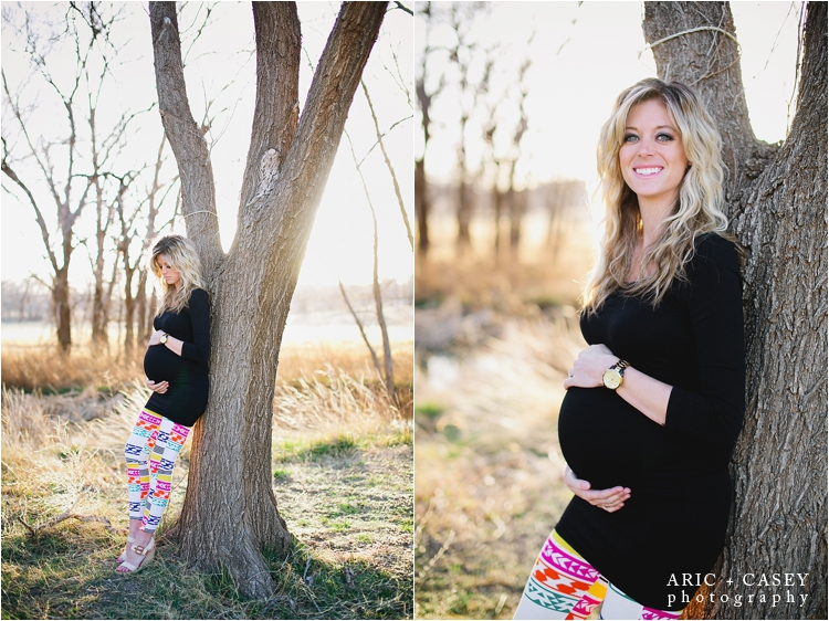 beautiful lubbock maternity session