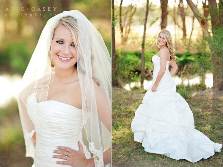 outdoor lubbock bridal pictures