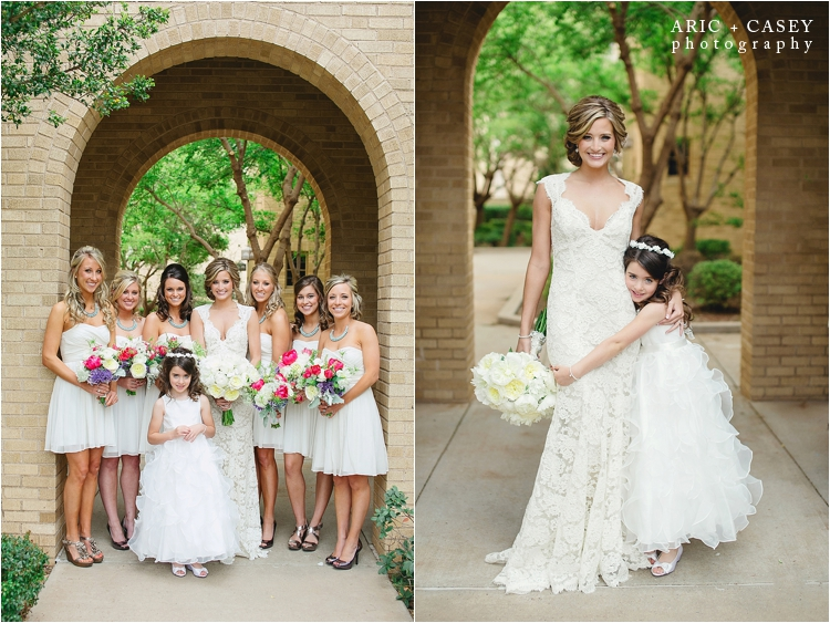 bridesmaids lubbock wedding photo