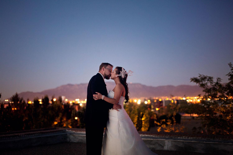 albuquerque wedding portrait