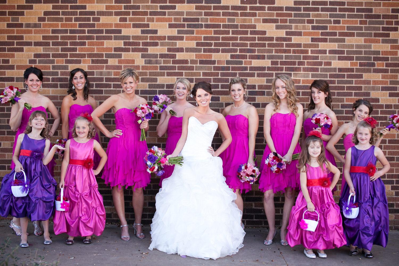 bridesmaids legacy event center