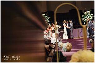 FBC Lubbock Wedding Ceremony