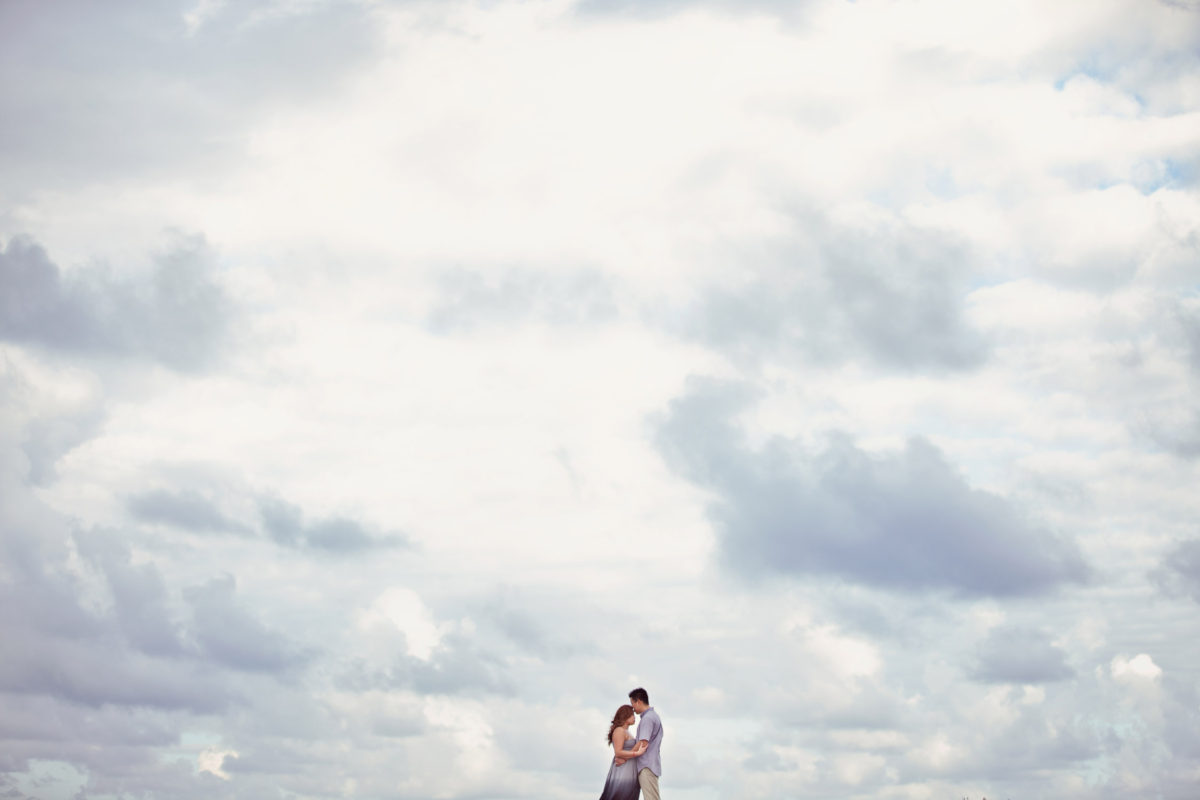 cancun mexico engagement photography